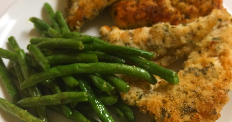 Almond Flour Breaded Chicken